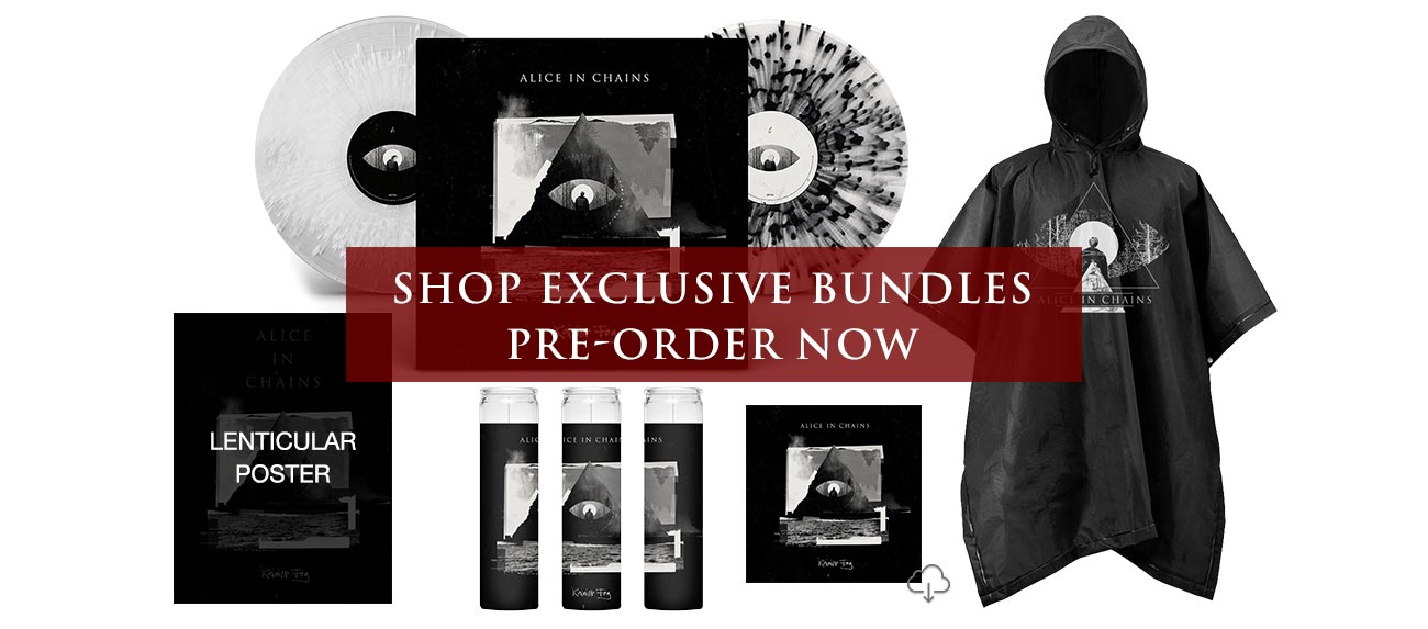 Alice In Chains – Exclusive Bundles