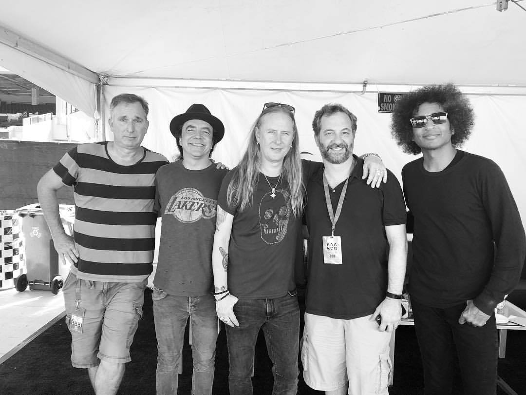 Hanging out with Judd Apatow & Wayne Federman at Kaaboo. #aliceinchains ;igshid=py6z227umogh