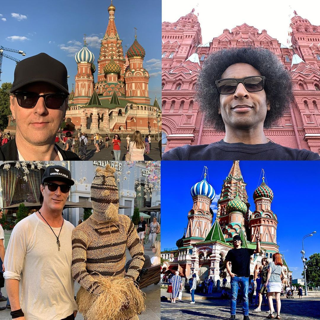 Out and about in Moscow…