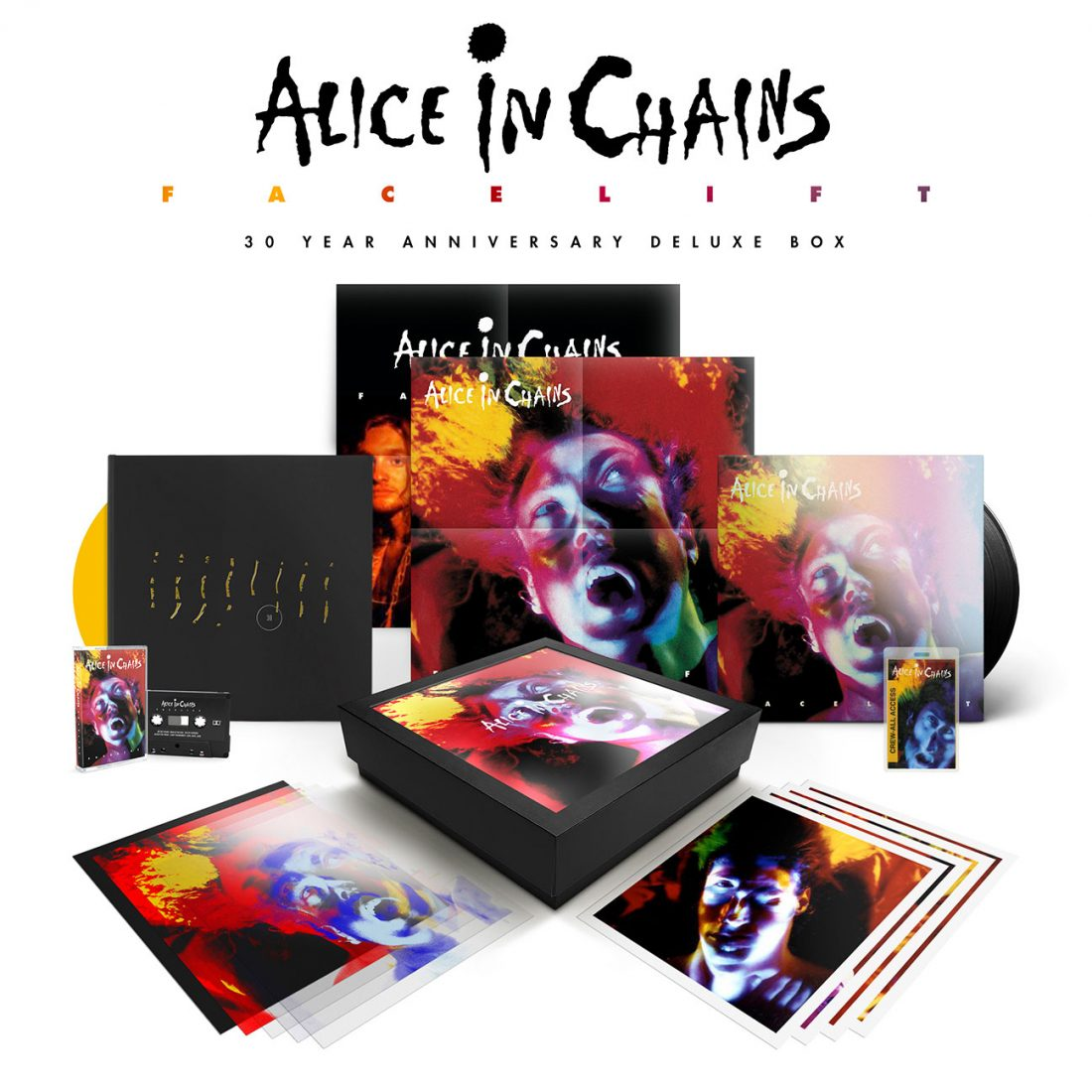 Alice In Chains - Facelift 30th Anniversary Box Set